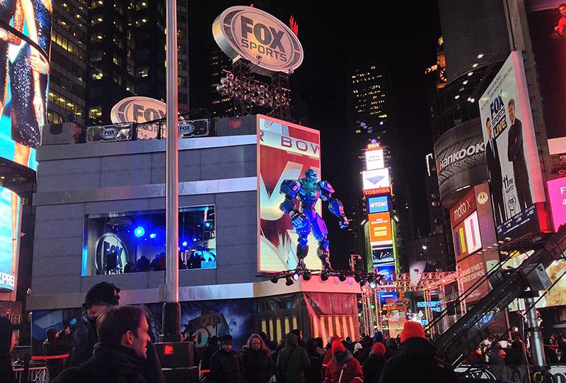 FOX Sports Broadcast Superbowl 38