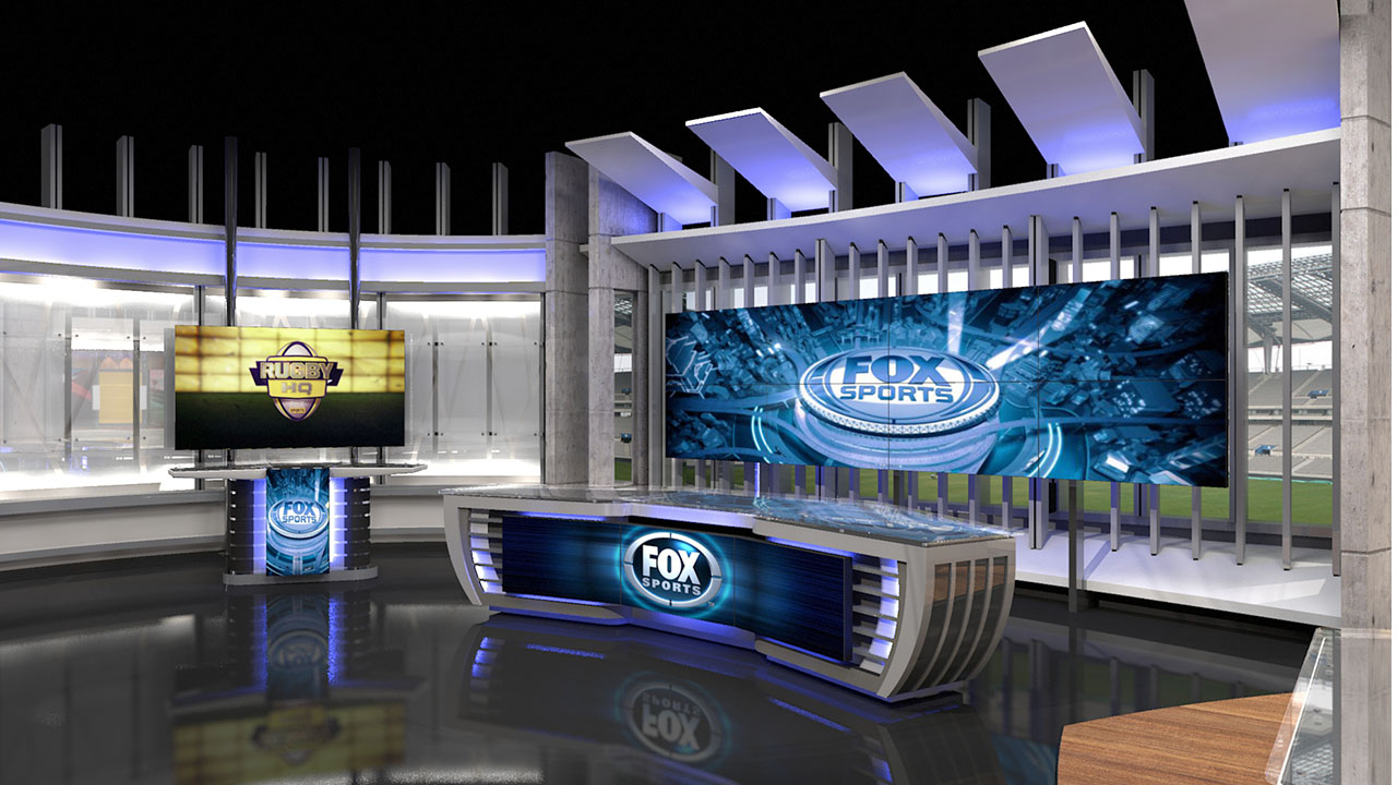 Fox sports australia jhd group for Australian design studio