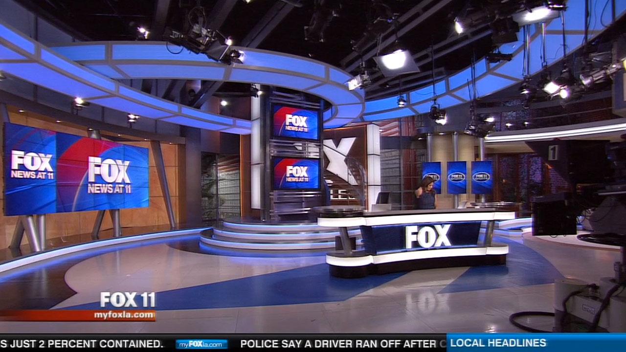 Fox 11 news studio la jhd group for Studio 11 architecture