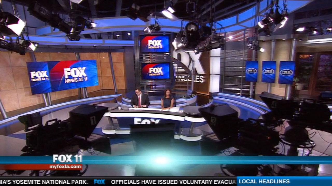 Fox 11 news studio la jhd group for La port news
