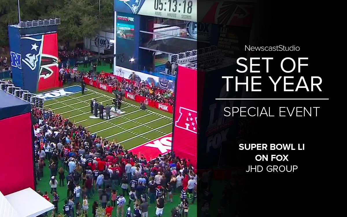 Production Design Award SuperBowl 51